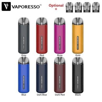 цена на Original Vaporesso OSMALL Pod System Kit with 350mAh Built-in Battery & 2ml OSMALL Pod Cartridge Electronic Cigarette Pod E Cig