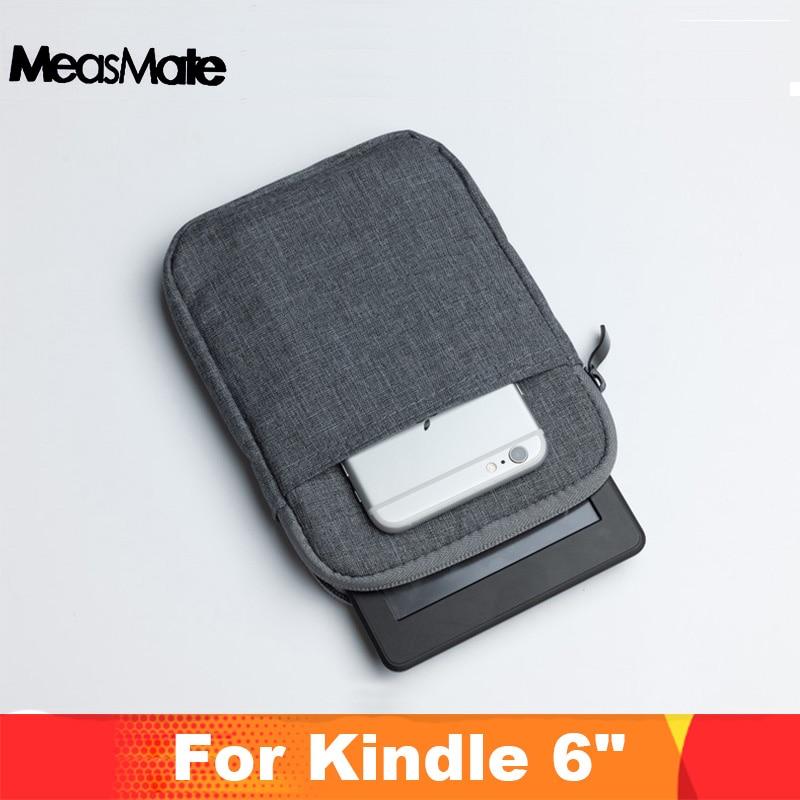 """Antichoc tablette sac 6 """"pouces housse pour pocketbook 626 624 622 614 615 515 631 Kindle Paperwhite Portable sac de transport couverture"""