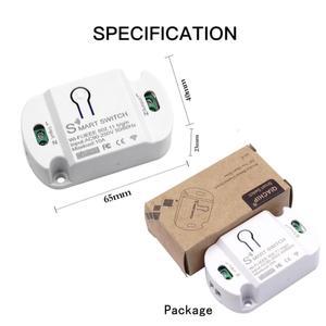 Image 5 - Smart Wifi Schakelaar Mini Diy Module Wifi Lichtschakelaar Draadloze App Afstandsbediening Schakelaar Smart Home Elektrische Schakelaars Voor Tuya