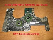 661-5213 for Macbook Pro Unibody A1286 2009 2.8GHz t9600 820-2523-B Mb985 Mb986 Logic Board laptop motherboard notebook pc PR015