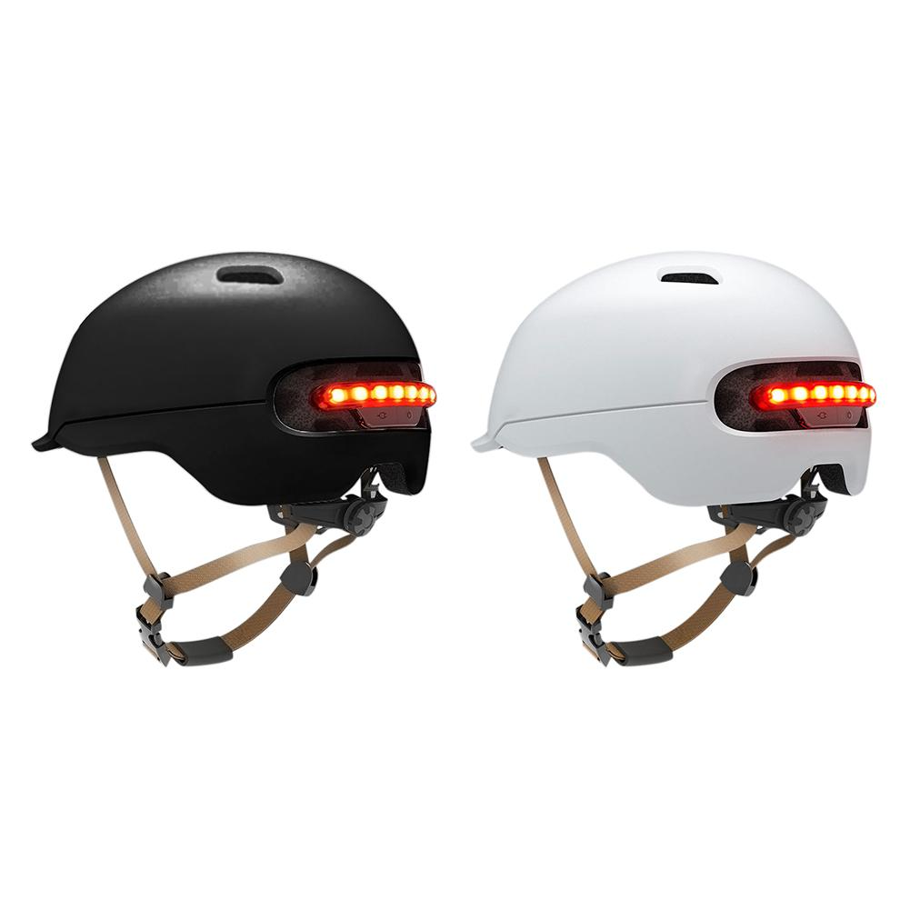 New Cycling Helmet For Xiaomi M365 Electric Skateboard Scooter Electric Car Smart Flash Riding Helmet Safety Cap MTB Bike Helmet
