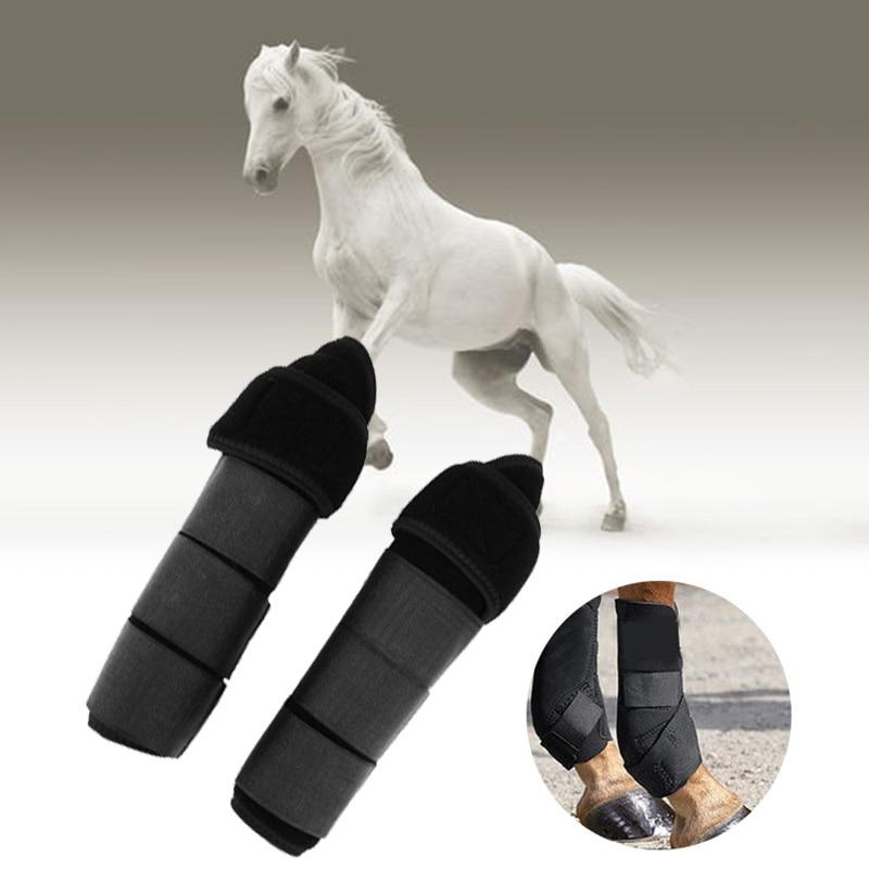 Бесплатная доставка 1 пара регулируемые конные сапоги для поврежденного