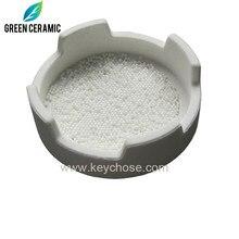 Zirkonia bead für dental sintern ofen 1,0mm 2,0mm und 2,5mm-cad cam zahn zirkonia zähne material weiß farbe