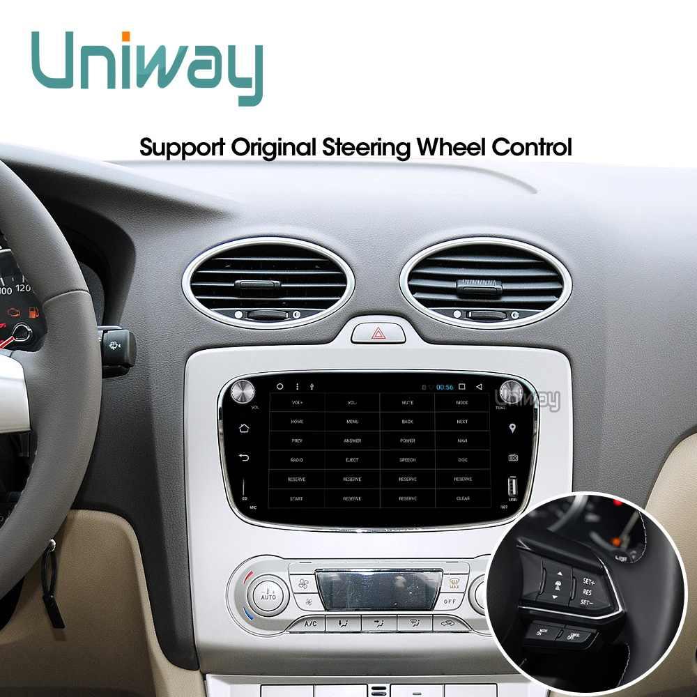 Uniway ALFKS7071 2 グラム + 32 グラムアンドロイド 8.1 車の dvd フォーカスフォードモンデオフォード久我フォード S-MAX C -MAXcar ラジオ