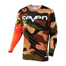 2020 Quick Dry Long Sleeve cycling jersey seven mx mtb off road Mountain Bike DH Motocross BMX DH downhill Jersey Breathable quick dry cycling jersey sets breathable sponge pad anti sweat mtb dh road mountain bicycle bike men cycling sets