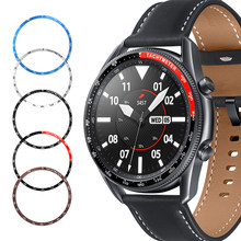 Металлический чехол для Samsung Galaxy Watch 3 41 мм/45 мм, защитный чехол-бампер, кольцо для стайлинга, ремешок для galaxy watch 3