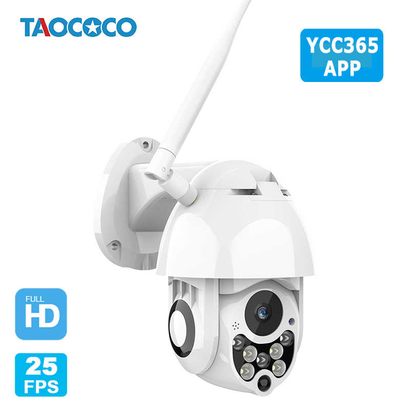 YCC365 1080P 2.0MP Waterdichte Ip Camera Outdoor Camera Wifi Cctv Camera Draadloze Auto Tracking Nachtzicht Ptz Security Camera