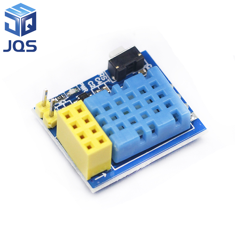 ESP8266 ESP-01 ESP-01S DHT11 Temperature Humidity Sensor Module Esp8266 Wifi NodeMCU Smart Home IOT DIY Kit (without ESP Module)