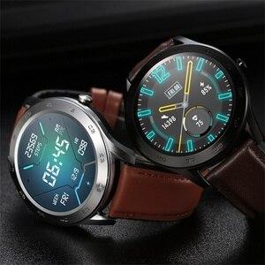 Image 3 - DT98 חכם שעון עמיד למים נשים גברים Smartwatch KSR909 עגול קצב לב מד צעדים מסר שיחת תזכורת חכם פעילות Tracker