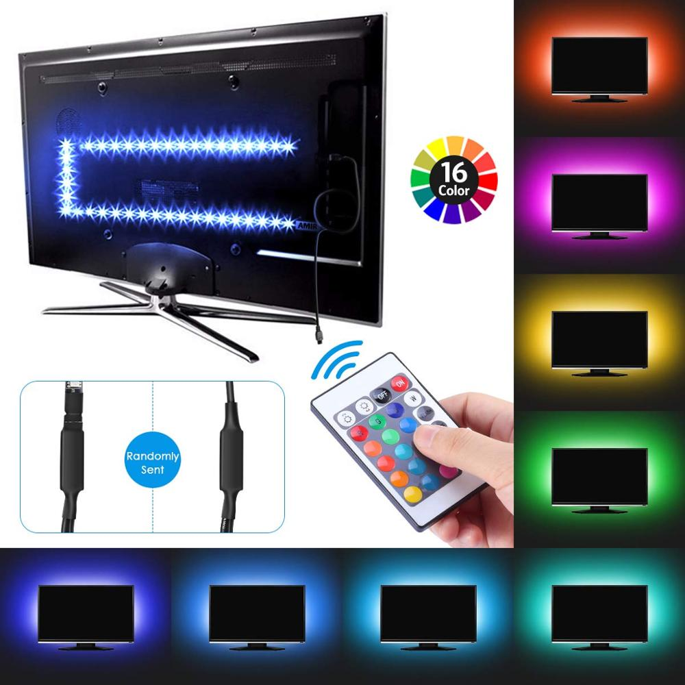 Multicolor LED Bias Lighting Backlight for TV /& Computer Screen with 256 Colors