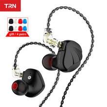 TRN VX 6BA + 1DD Hybrid Metall In Ohr Monitor Kopfhörer HIFI Sport Kopfhörer Ohrstöpsel Headset Headplug TRN V90 V80 ZS10 PRO CA16 ZSX