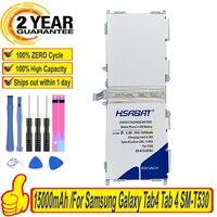 Marca 100% nueva 15000mAh batería para Samsung Galaxy Tab4 Tab 4 SM-T530 T533 T535 T531 T535 T537 baterías EB-BT530FBC