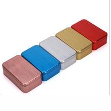 Xin Jia Yi упаковка на заказ пищевая Жестяная Банка черные металлические квадратные коробки алюминиевая жестяная коробка для чая