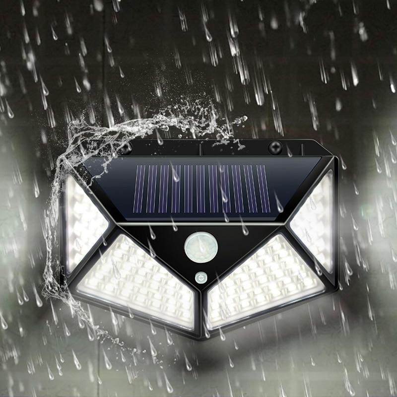 Garden Solar Lamp PIR Motion Sensor LED Solar Light Solar Powered By Sunlight Waterproof For Outdoor Wall Street Decoration