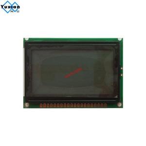Image 4 - شاشة الكريستال السائل شاشة 12864 128*64 الأزرق الأبيض 75x52.7 سنتيمتر 5v S6B0107 نصف أو حفرة الكامل LCM12864D V1.0 بدلا WG12864B AC12864E
