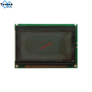 Image 4 - lcd display screen  12864 128*64 blue white 75x52.7cm 5v S6B0107 half or full hole LCM12864D V1.0 instead  WG12864B AC12864E