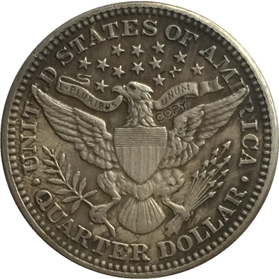 США 1916 P, D Парикмахерская или голова свободы четверть долларов копии монет