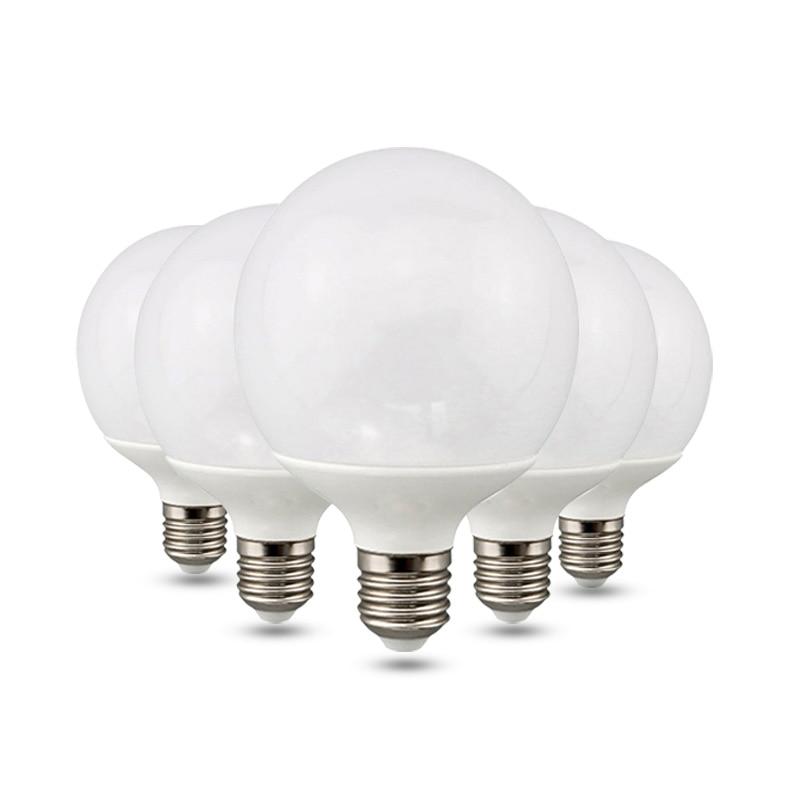 LED E27 LED Light E26 LED Bulb 110V 220V 2G80 G95 G120 LED Spotlight Lamp Bombilla Lighting Lampada