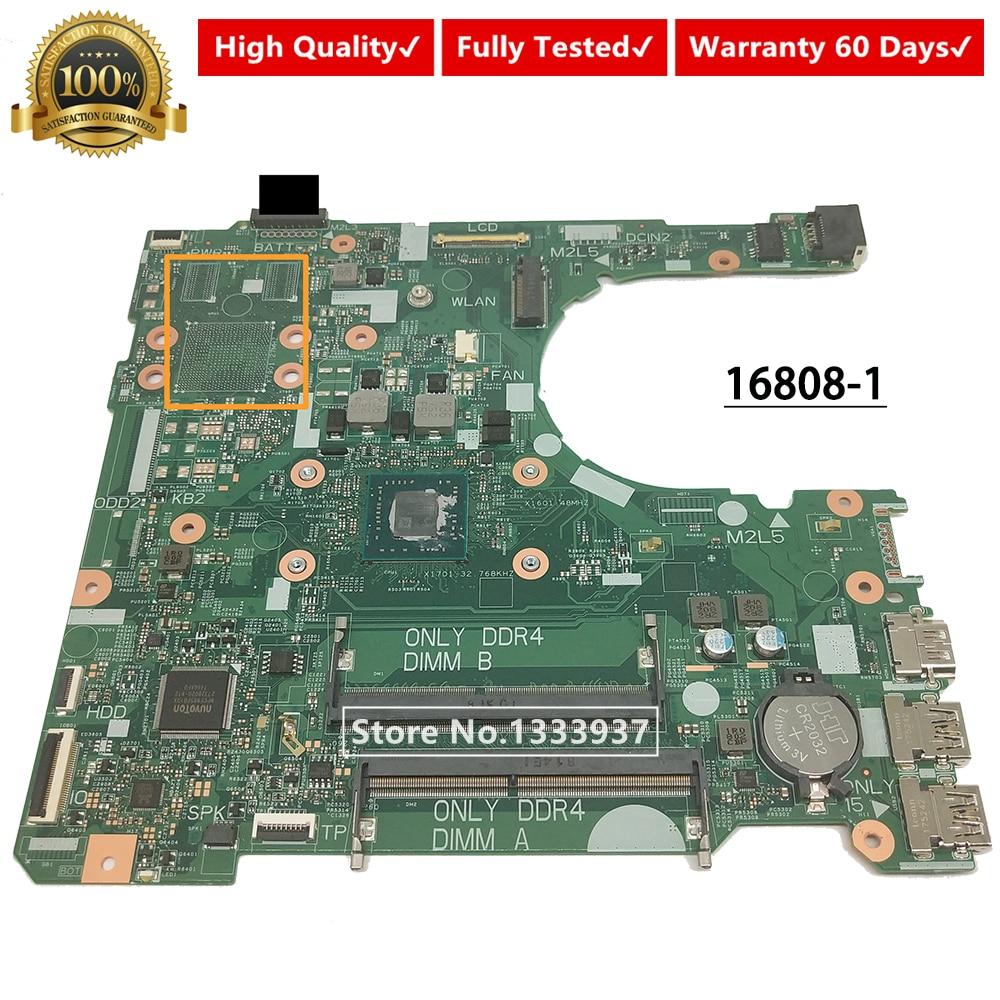 Mainboard CN-0JCKNX 0JCKNX JCKNX FOR DELL Inspiron 15 3565 14 3465 Laptop Motherboard 16808-1 395RH