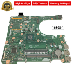 Płyty głównej płyta główna CN 0JCKNX 0JCKNX JCKNX do DELL Inspiron 15 3565 14 3465 laptopa płyty głównej płyta główna w 16808 1 395RH w Płyty główne od Komputer i biuro na