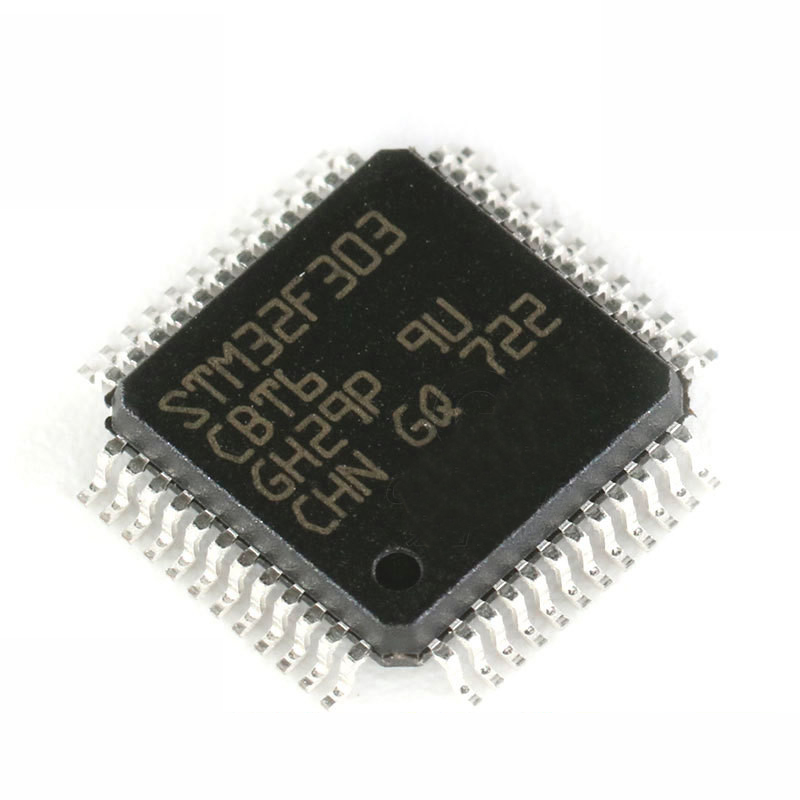 1PCS  STM32F303CBT6 STM32F303 QFP-48 CBT6 MCU 32-Bit ARM Cortex M4 72MHz 128kB MCU FPU