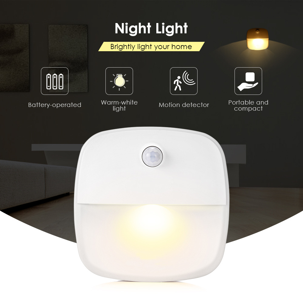 1pack Led Induction Lamp Body Induction Lamp Product Wireless Energy-Saving Somatosensory Nightlight Manufacturers