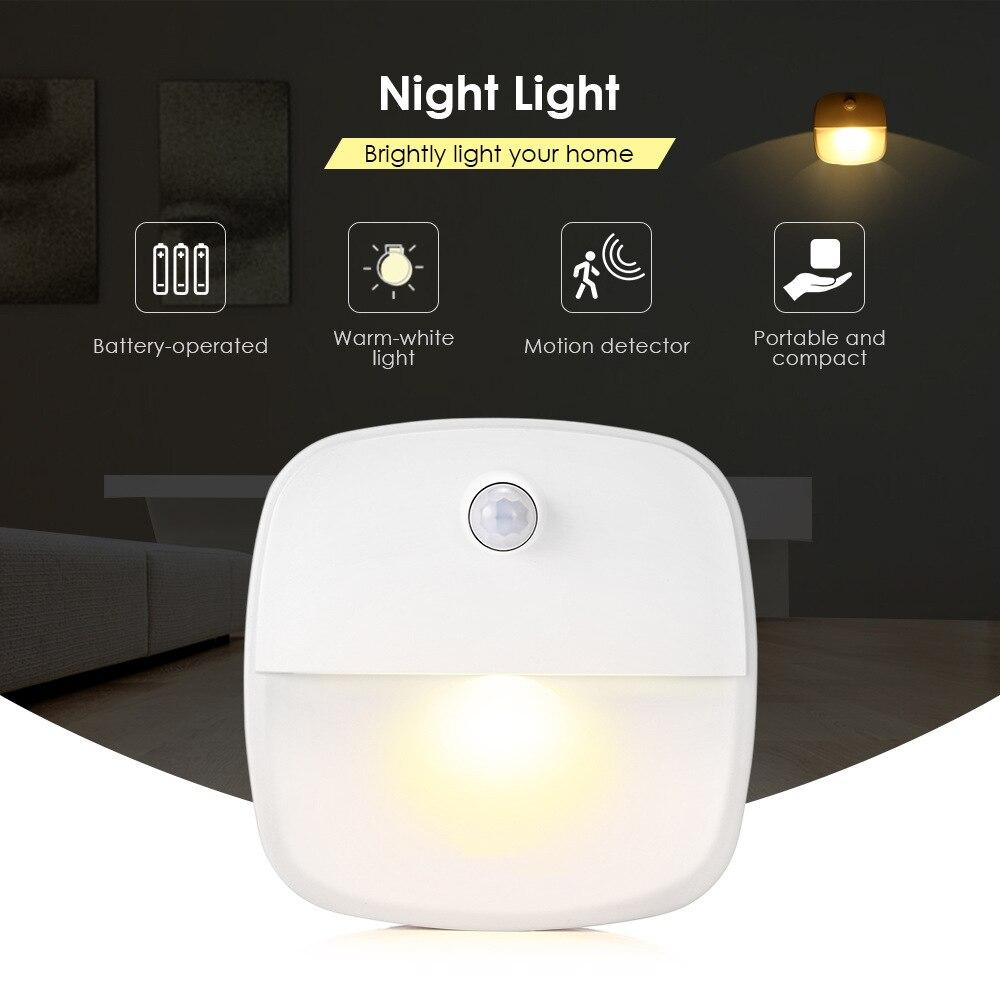 1pack Led Induction Lamp Body Induction Lamp Product Wireless Energy-Saving Somatosensory Nightlight Manufacturers
