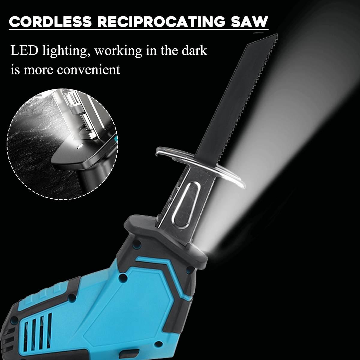 LANNERET 900 Вт электрическая сабельная пила деревообрабатывающая металлическая режущая сабельная ручная пила с переменной скоростью многофун... - 3