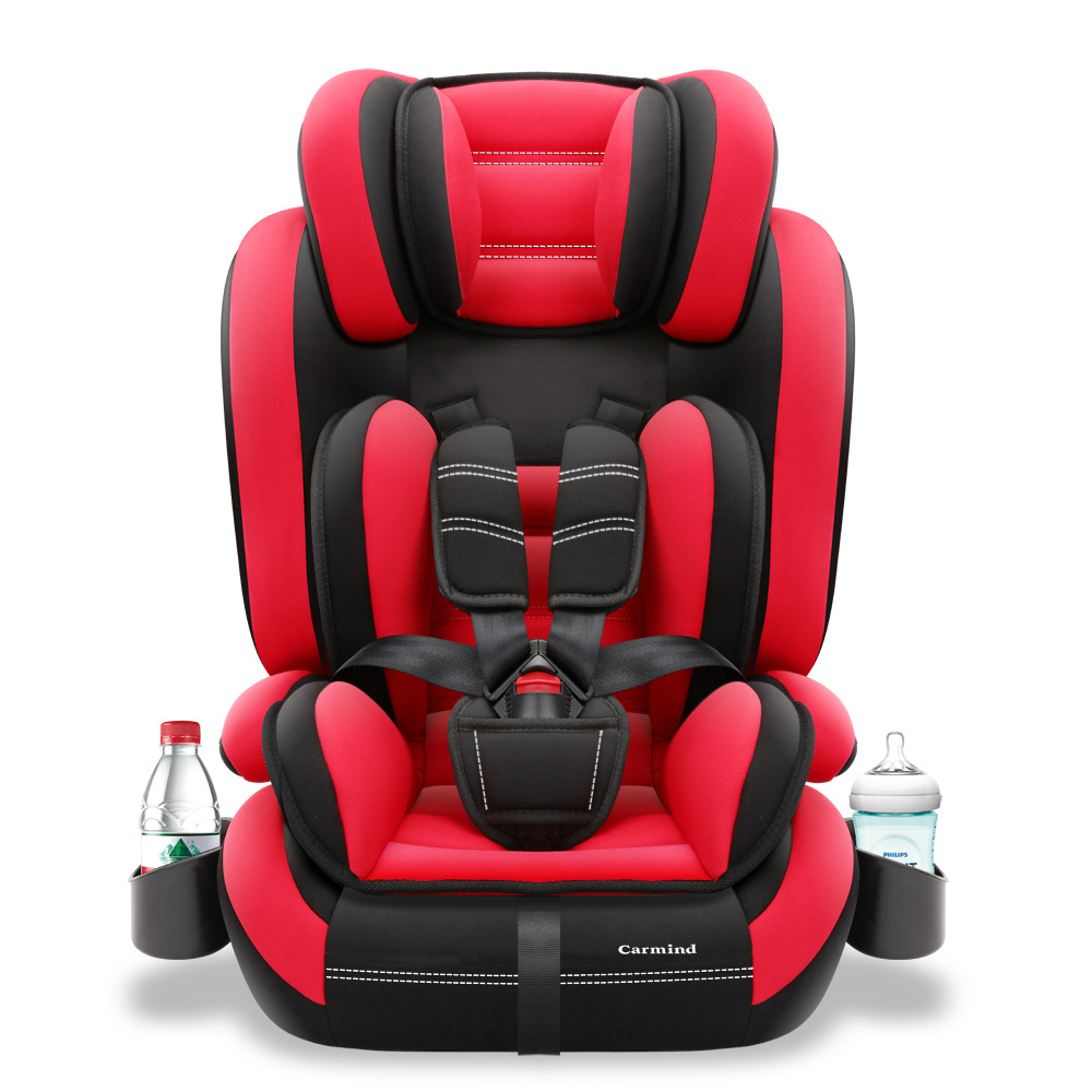 Child Car Safety Seat 3C Certified Portable Baby Car Seat 5-point Seat Belt Fixing Car Seat Booster 9M-12Y