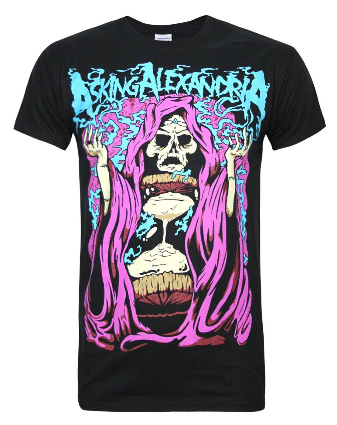 Printed Asking Alexandria Ghoul Men's T-Shirt Tops Graphic Round Collar T-Shirts 100% Cotton Hip Hop