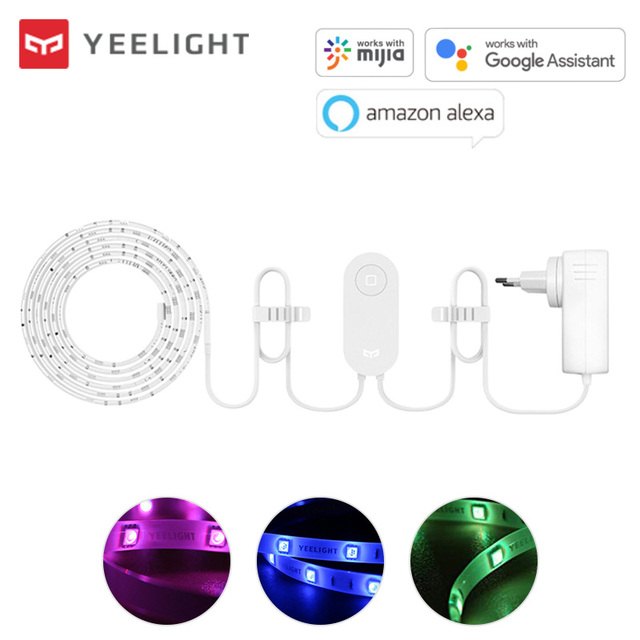 Yeelight أورورا الذكية ضوء الشريط زائد YLDD04YL 2 متر LED RGB WiFi الذكية ديكور المنزل ضوء العمل مع أليكسا جوجل مساعد Mi المنزل