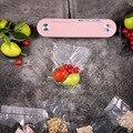 Вакуумная упаковочная машина, маленькая Бытовая Автоматическая вакуумная кухонная машина для сохранения пищевых продуктов