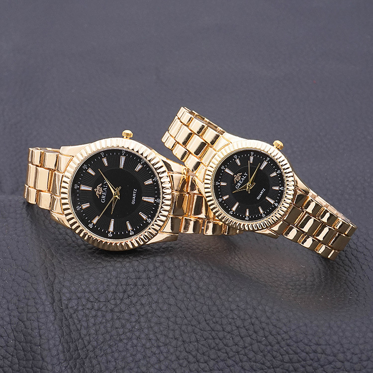 Fashion Couple Wrist Watch Men Women Luxury Stainless Steel Strap Watches Sports Casual Watch