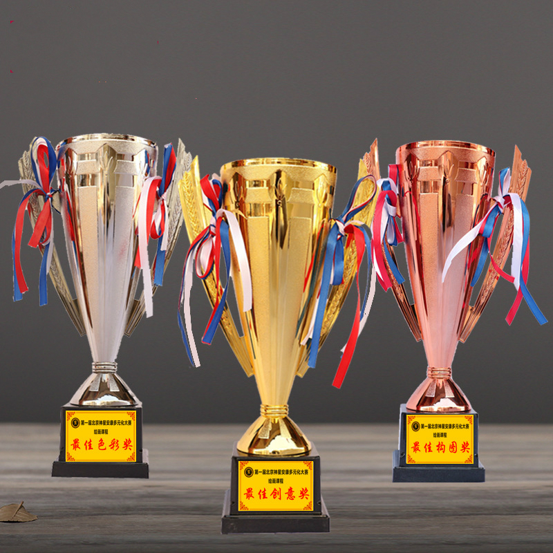 Best Creative Trophy Winners Customization School Games Competition Awards Gifts Champion Souvenirs Sports Cups And Trophies