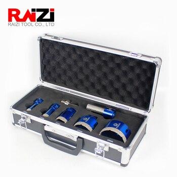 цена на Raizi Phoenix DIamond core drill bit sets for tile ceramic marble porcelain granite diamond coated core hole saw drill bit