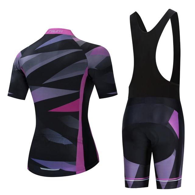 Feminino 2020 teleyi mtb ciclismo conjuntos de roupas femininas skinsuit mtb bicicleta roupas triathlon terno uniforme wear bicicleta jerseys kits 2