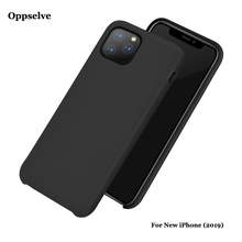 Fashion Original Liquid Silicone Phone Oppselve Case For iPhone 11 & Pro Max Newest Luxury Microfiber Coque Cover