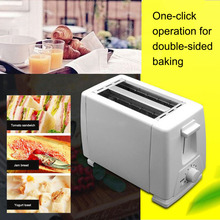 цена на Electric Bread Toaster Oven Household Automatic Sandwich Bread Breakfast Baking Maker Grill Tools with 2 Slices for Home Kitchen