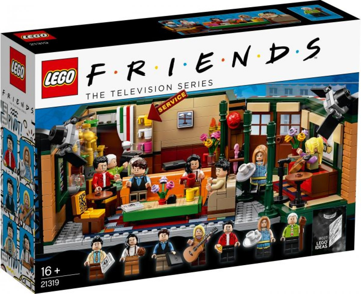 Lego 21319 Friends Central Perk-juego De Building