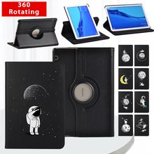 360 Degrees Rotating Folio Tablet Stand Cover Case For Huawei MediaPad T3 10 9.6