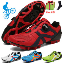 Cycling Shoes Men Outdoor Professional Racing Road Spd Pedal Bicycle Sneaker Sneaker Unisex Mtb Mountain Bike Shoes