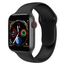 Reloj inteligente Timewolf W34 para hombres y mujeres con pantalla táctil y presión arterial reloj inteligente Multifonction IP68 Android para Iphone IOS
