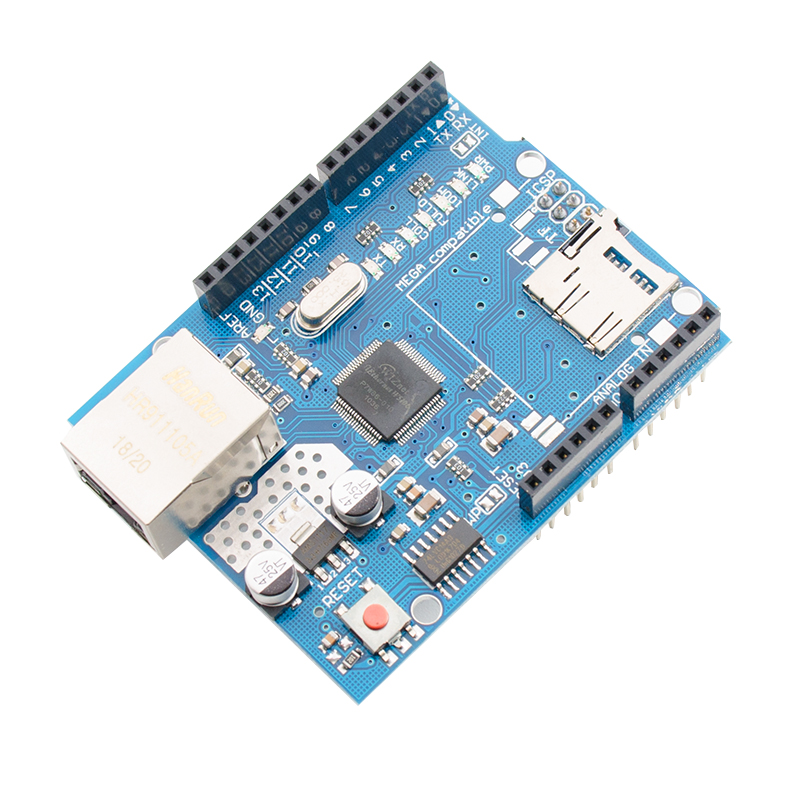 Ethernet W5100 Network Expansion Board Module SD Card Expansion For Arduino