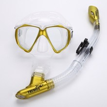 Snorkeling Diving Goggles & Full Dry Snorkel Anti-fog