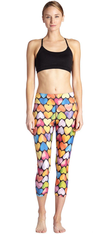 Семь минут леди брюки для женщин с цветом любовь сахар похудения s и дыхание и пот поглощения леггинсы