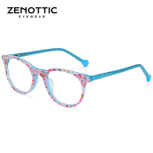 Image 2 - ZENOTTIC Acetate Anti Blue Light กรอบแว่นตาสำหรับเด็กเด็กเด็กสาวสำหรับเล่นเกมคอมพิวเตอร์สายตาสั้นแว่นตา