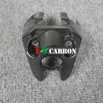 For Ducati Monster 797, 821 2018 2019+ 1200,S 2017 2018 2019+ Full Carbon Fiber Motorcycle Accessories Key Cover radiator cover for ducati monster 696 795 796 full carbon fiber 100% twill