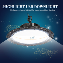 UFO Led High Bay Lights 100W 200W 300W Waterproof IP54 Garage Workshop Warehouse Highbay Lighting Industrial Led Machine Lamp цена