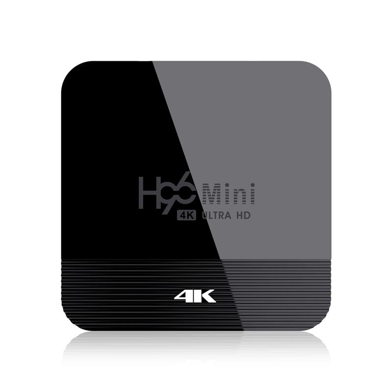 H96 Mini H8 Android 9.0 TV Box RK3228A 2GB 16GB 4K Smart TV Box 2.4G&5G Wifi BT4.0 Media Player Set Top Box