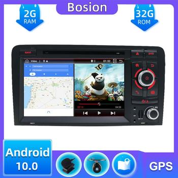 2 din Car Multimedia Player Android 10.0 For Audi A3 8P S3 RS3 Sportback 2003-2011 car radio gps Bluetooth OBD DAB Wifi SWC 32G image